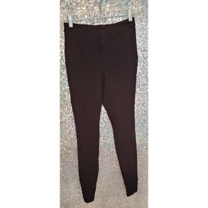 Black stretch business casual bottoms